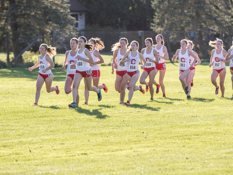 The Women's Cross Country team finished in Fourth this weekend at NCAA regionals and Taylor Knibb secured a spot in the National Championship race.