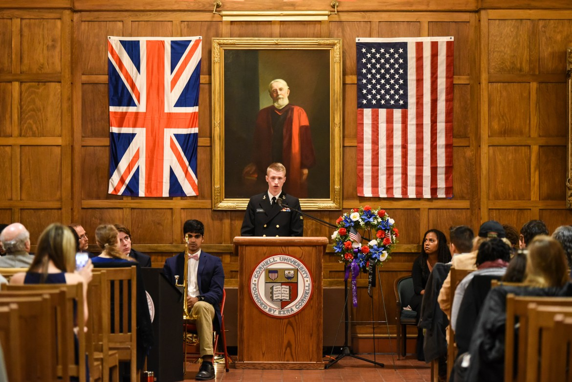 Risley celebrates the 100 year anniversary of the end of WWI on Saturday night.