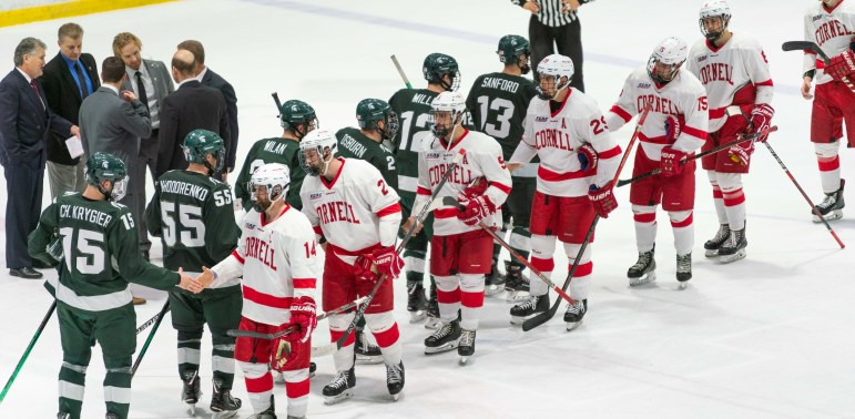 Cornell's two losses to Michigan State to start the season hurt its PairWise ranking, the metric that determines entry to the NCAA Tournament.