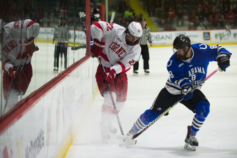 Cornell hosted Alabama-Huntsville to open last season. This weekend, the Red takes on the other Division I team from the Sun Belt.
