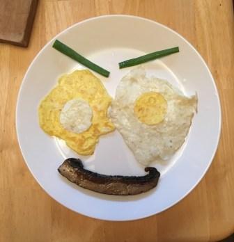 Smiley Eggs