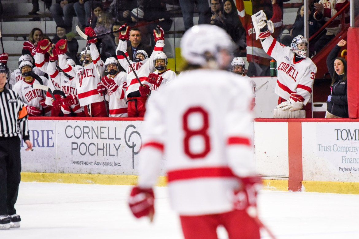 Cornell could earn the ECAC's top seed in the final weekend of the regular season.