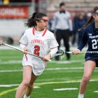 In its home opener, Cornell dropped a tight game to nationally-ranked Penn State.