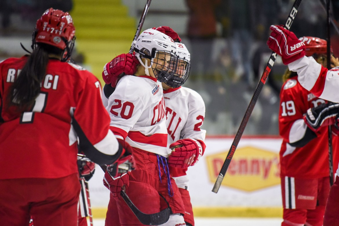 Cornell hopes its eight-game win streak will survive the trip north.