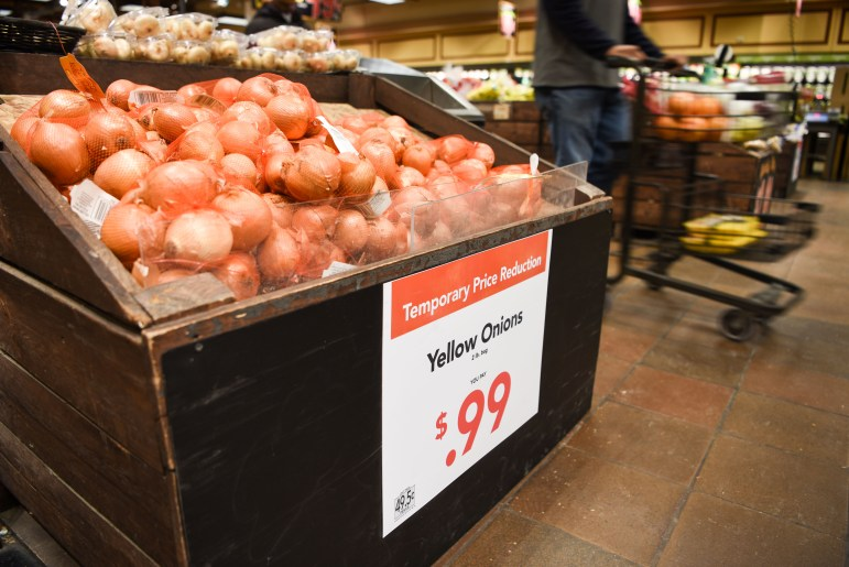 Wegmans introduced temporary price cuts on select food items after the government shutdown led to a shortage in national food stamp funding. The reductions started on Feb. 16 and will continue through March 2. (Boris Tsang / Sun Assistant Photography Editor)