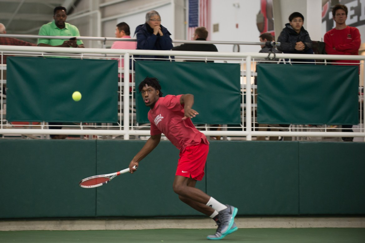 Men's tennis hopes to keep up with the elite teams coming up on its schedule.