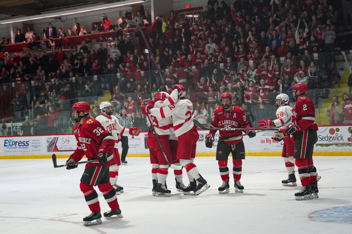 Last-place St. Lawrence is on the docket for Cornell this weekend after the Red beat the Saints, 3-1, on Feb. 9.