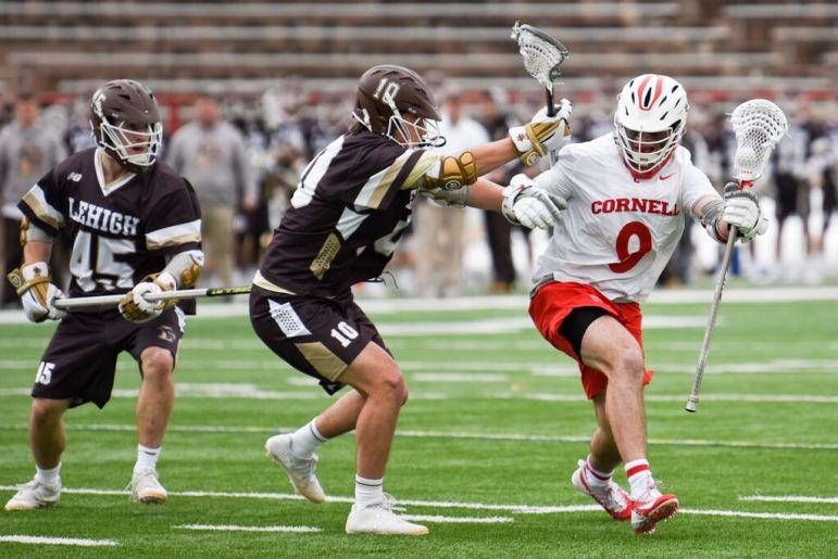 Cornell improved to 2-0 with a win over Lehigh.