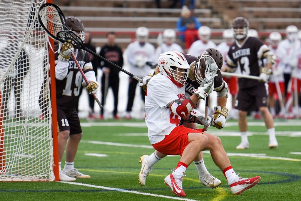 Cornell outscored Lehigh 7-0 in the third quarter to run away with a victory.