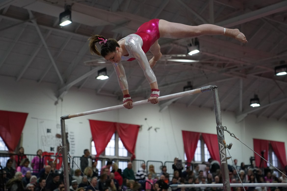 Cornell gymnastics came out on Saturday with the intent to give the seniors an unforgettable Senior Day — and they certainly succeeded.