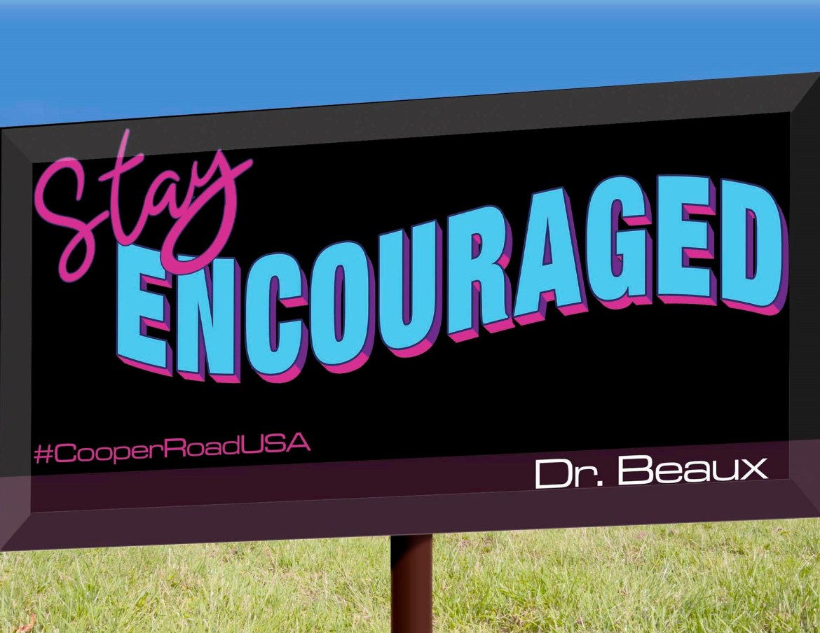 One of the billboards that Toni Thibeaux commissioned in Shreveport, LA.
