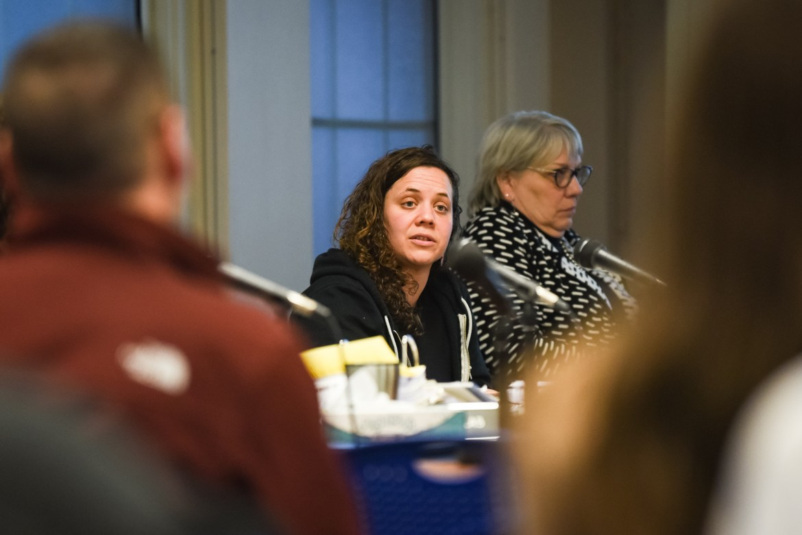 Board members discussed the North Campus expansion project at this week's Ithaca planning and development meeting on March 26, 2019.