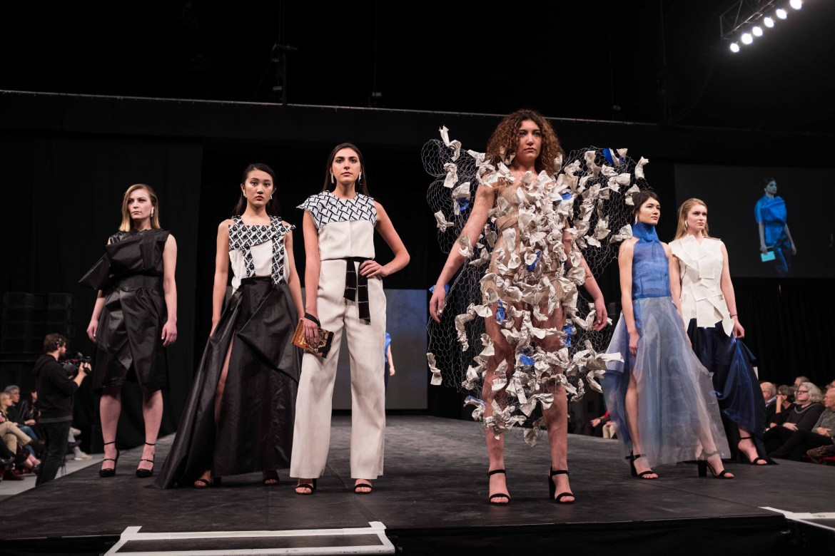 Cornell Fashion Collective features designers who create looks based on specific themes.
