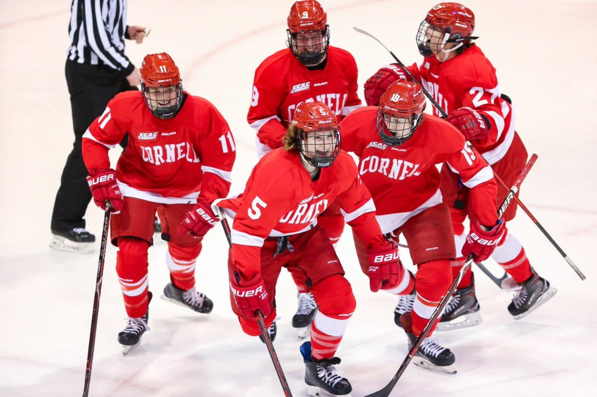 Cornell women's hockey beat Northeastern in overtime to advance to the 2019 Frozen Four.