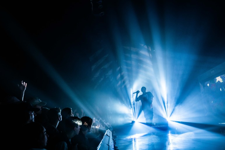 Vince Staples performed at the State Theatre Friday night. (Ben Parker / Sun Assistant Photography Editor)