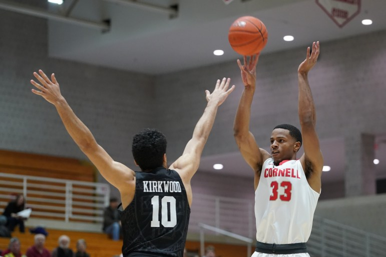 On Friday, Cornell completed its first season sweep of Harvard since the 2009-10 season with a 72-59 victory. (Ben Parker / Sun Assistant Photography Editor)