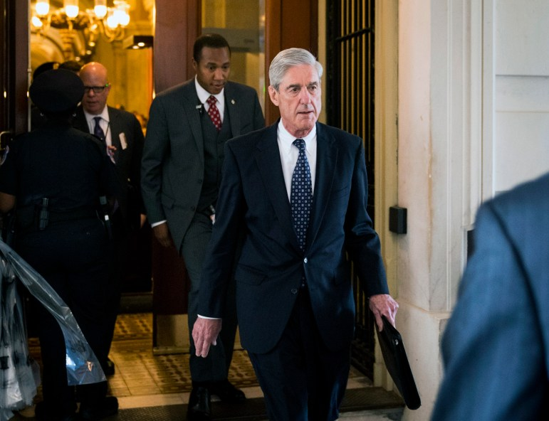 Robert Mueller at the Capitol in Washington, June 21, 2017. Mueller was the special counsel investigating potential Russian interference in the 2016 presidential election.