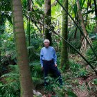 W.S. Merwin at his home, a former pineapple plantation built atop a dormant volcano in Maui, Hawaii, on June 30, 2010. Merwin is to be named the 17th poet laureate of the United States. (Tom Sewell/The New York Times)