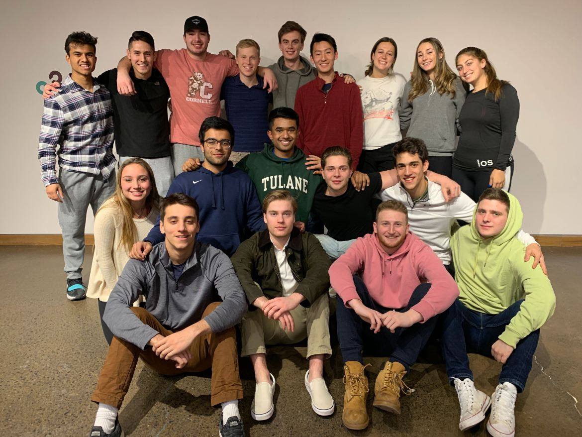 Suna Breakfast, a startup co-founded by Christophe Gerlach '20 and Pedro Bobrow '20, includes a team of 22 students from various backgrounds and majors.