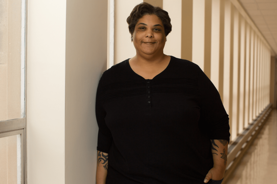 "Author and visiting Yale English Prof. Roxane Gay, pictured here in 2014, said Monday that she was ""very serious"" about wanting to speak at Cornell's convocation in May after comedian Hasan Minhaj reportedly dropped out."