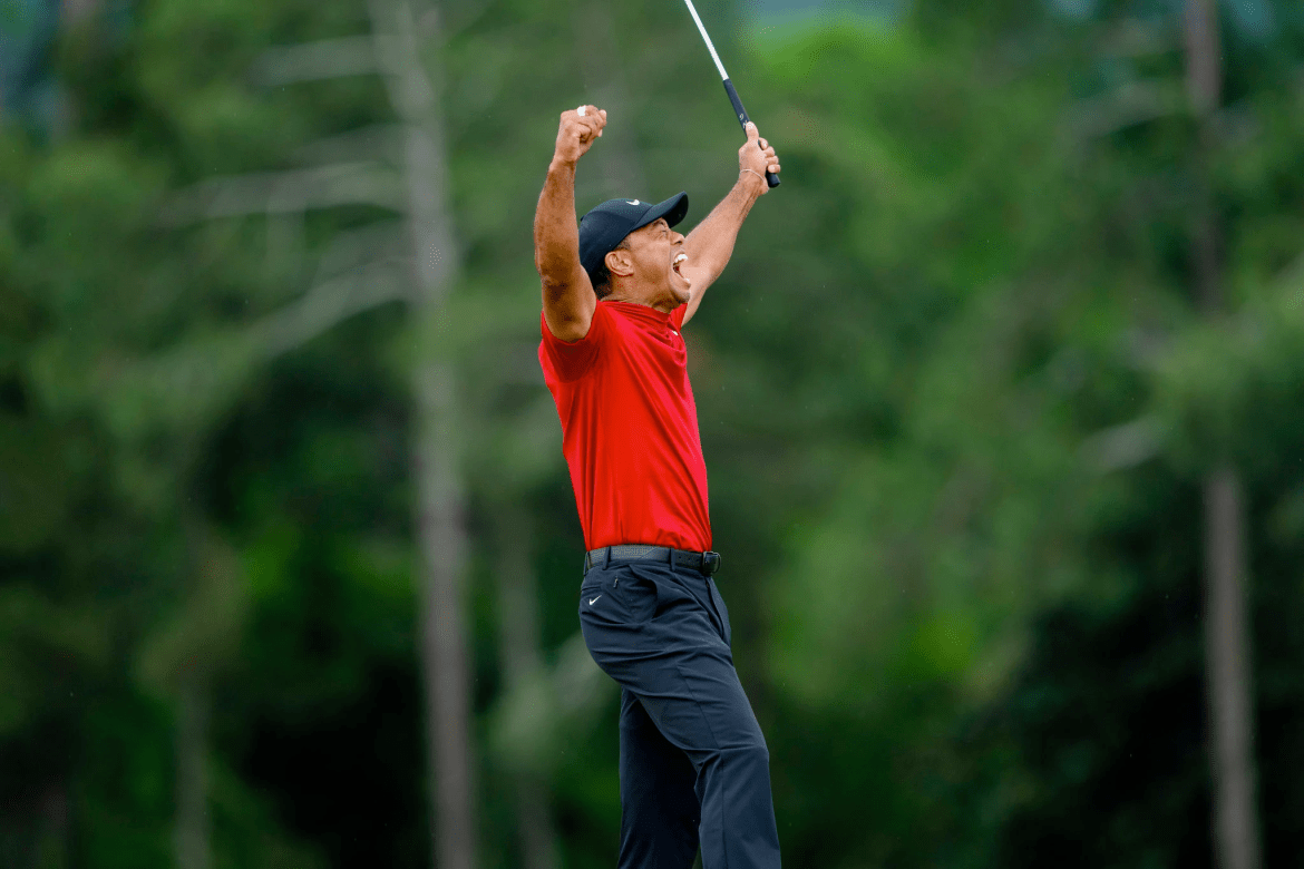 Two years ago, Tiger Woods was considering retirement. On Sunday, he won the Master's.