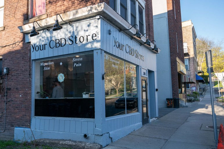 The store at the bottom of E. Seneca Street sells a medley of CBD-based products to remedy all kinds of ailments.