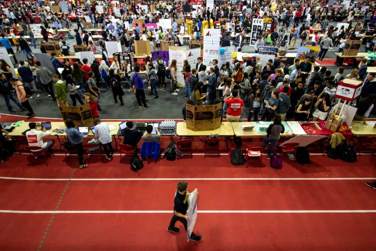 Looking to get involved on campus? Take your pick from the hundreds of student organizations set up at Barton Hall during this semester's ClubFest on September 15.