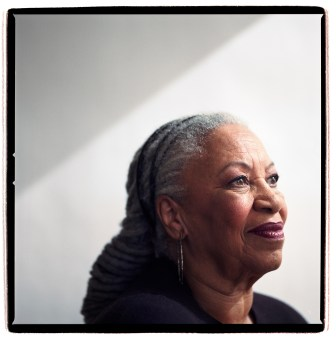 Toni Morrison M.A. '55 in New York in 2008.