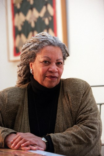 Toni Morrison M.A. '55 at her home in New York in 1998.