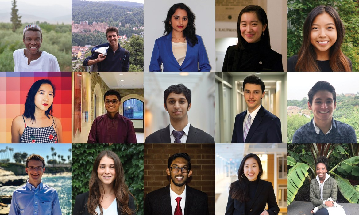 Multiple Cornellians were selected as United Nations Millennium Fellows.
