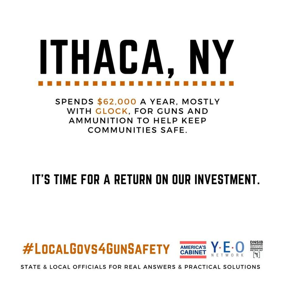 In a Facebook post earlier this month, Ithaca Mayor Svante Myrick '09 threw his support behind a campaign that aims to promote gun reform by pressuring firearm manufacturers with which the City has large government contracts.