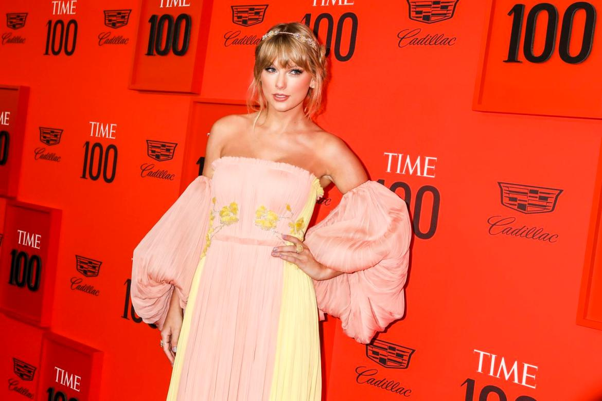 Taylor Swift at the Time 100 Gala at Lincoln Center in New York, April 23, 2019.