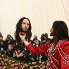 "Jared Leto at the Metropolitan Museum of Art's Costume Institute benefit gala in New York, May 6, 2019. The theme for this year's Met Gala is ""Camp: Notes on Fashion."""