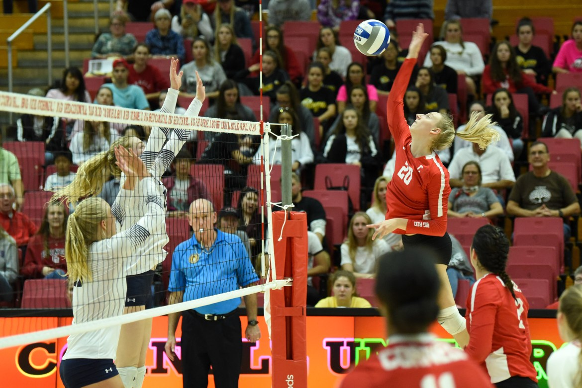 Jenna Phelps has been a force with the Red for the last three years. Now in her final season with Cornell, she reflects on her time playing volleyball.