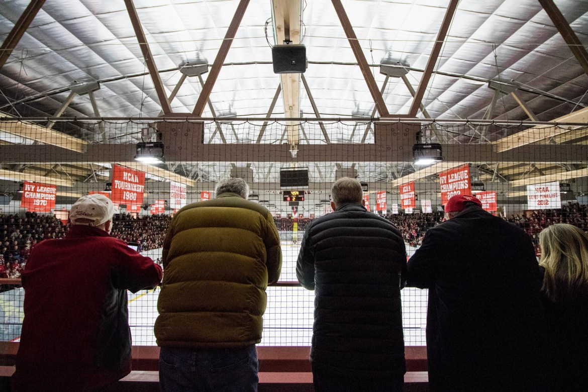 Big Red Hockey's beloved Lynah Rink was evacuated due to elevated carbon monoxide levels Saturday afternoon.