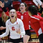 Cornell volleyball took down Dartmouth and Harvard at Newman Arena, extending its winning streak to 10.