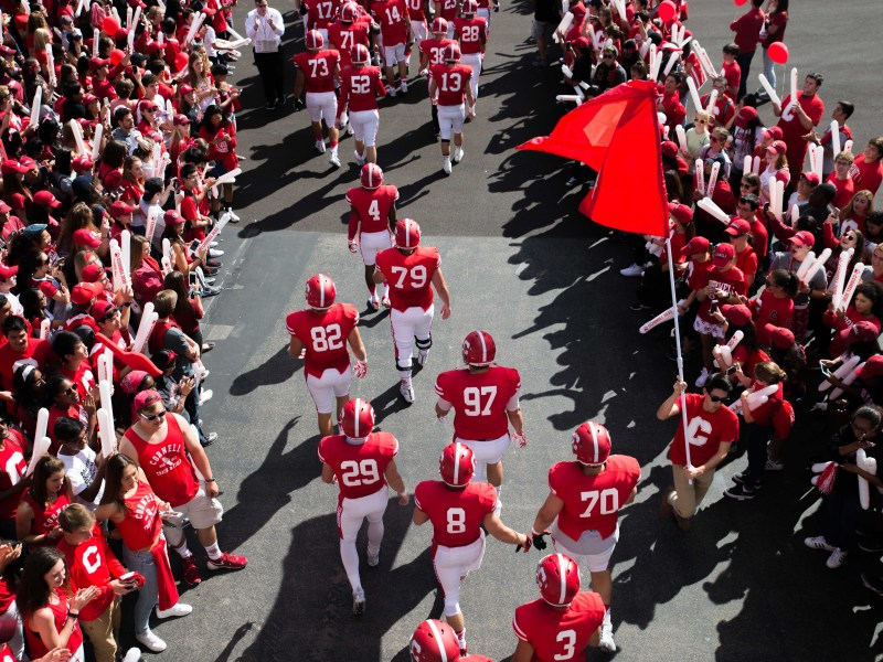 Cornell will take the field for Homecoming at 3 p.m. Saturday.