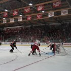Cornell's hockey teams will play in front of a mostly empty Lynah Rink in this weekend's playoff games.