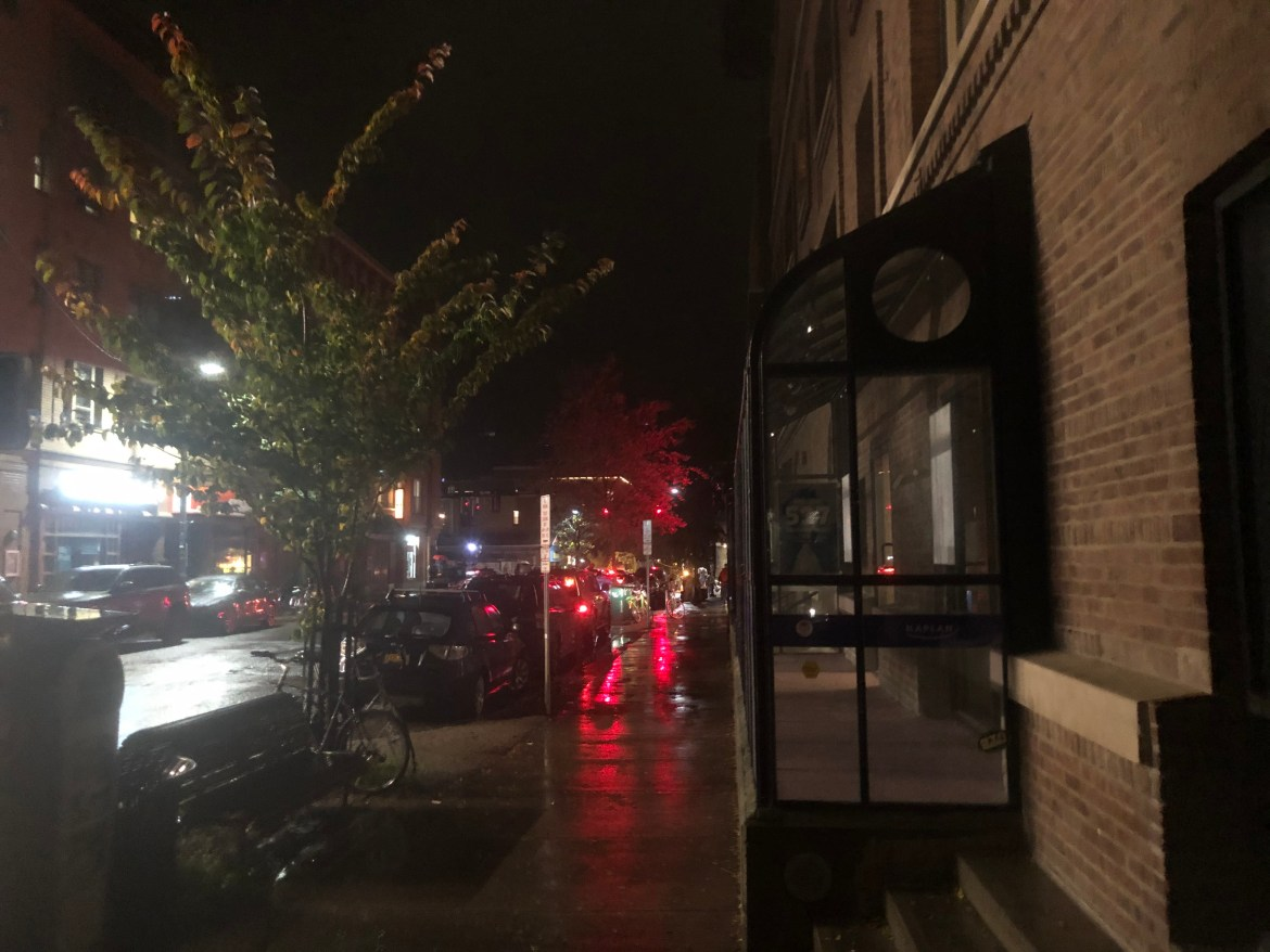 Parts of Collegetown experienced outages Thursday night, with businesses such as 7/11 and Collegetown Bagels reporting loss of power.