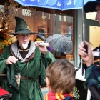 Rain didn't stop the most avid magic fans at Wizarding Weekend last year, where children and adults alike were decked out in their favorite fantasy costumes.