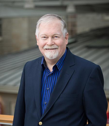 Robert Morgan, professor of English (ENGL).