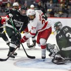 Game one of the 2019-20 season ended up with a better result for Cornell than in last season's opener against Michigan State.
