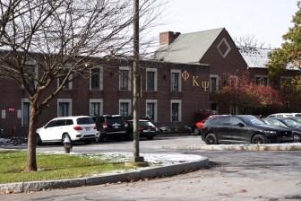 Phi Kappa Psi fraternity house on November 9th, 2019.
