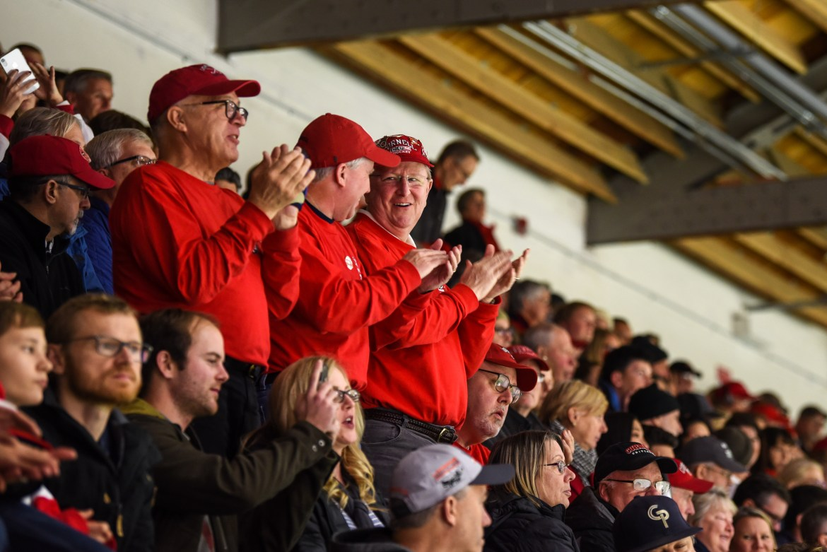 "The ""Section O Old Guys"" graduated from Cornell in 1981 and were members of the pep band."