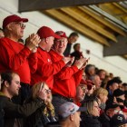 """The """"Section O Old Guys"""" graduated from Cornell in 1981 and were members of the pep band."""