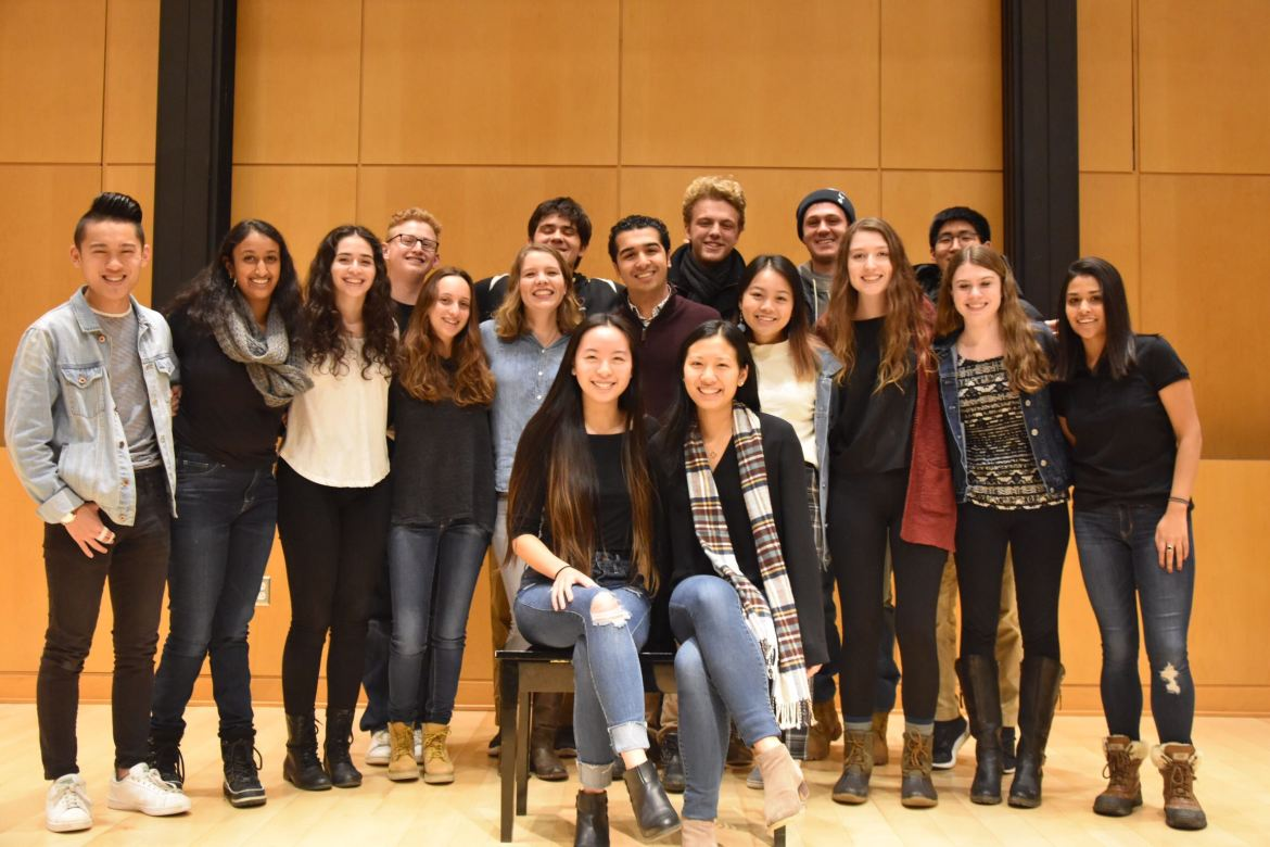 Members of the Cornell Roosevelt Institute in Fall 2019.