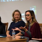 Panel on Women's Issues at Goldwin Smith Hall on 11/04/2019.