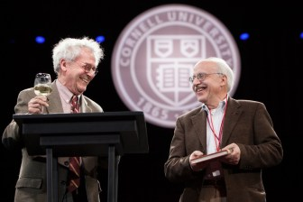 Prof. Kramnick and Altschuler at the sesquicentennial.