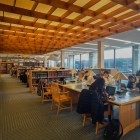 Students work in Olin Library on Nov. 18, 2019.