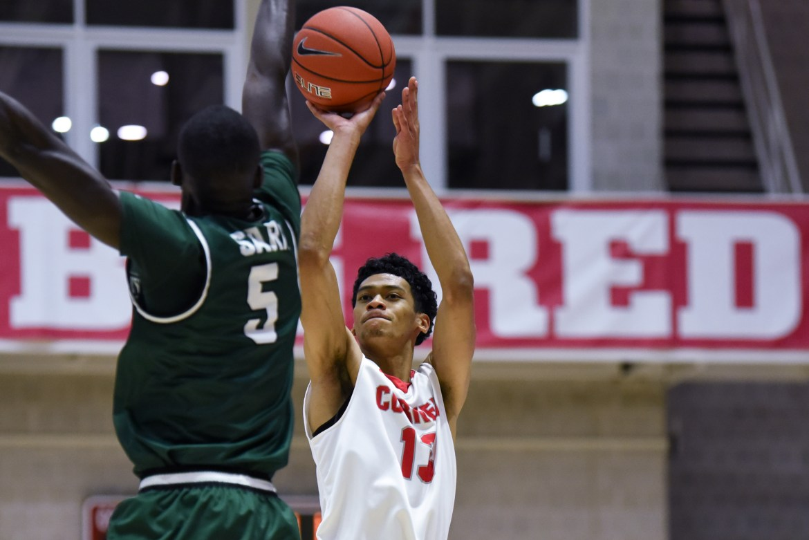 A 14.3 shooting percentage from 3-point range sunk the Red in its loss to the Leopards.